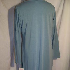 Sage LuLaRoe Long Sleeve Debbie Dress 2XL NWT